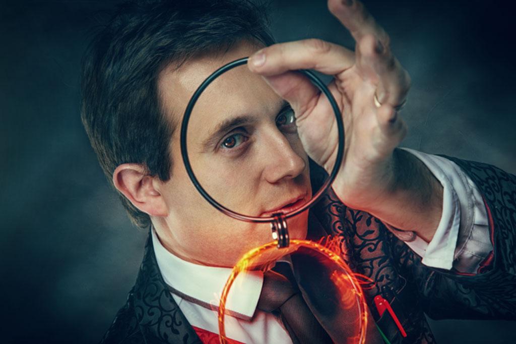 Matthew Garrett Magician